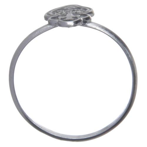 Pierścień Pasjonistów srebro 800 4