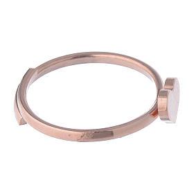 Anello AMEN Cuore falange argento 925 fin. Rosè s3