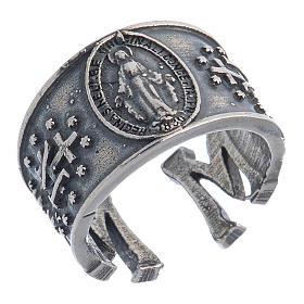 536c30774fd3 Anillo Virgen Medalla Milagrosa plata 925