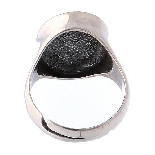 Ring Silber 925 Votivherz getönten 5