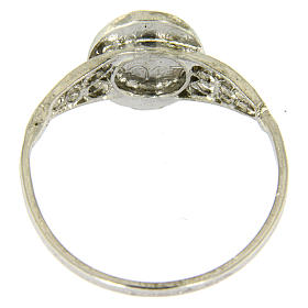 Ring in silver Our Lady of Fatima s3