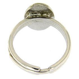 Ring Silber 800 Gottesmutter von Fatima verstellbar s3