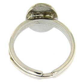 Silver ring Our Lady of Fatima s3