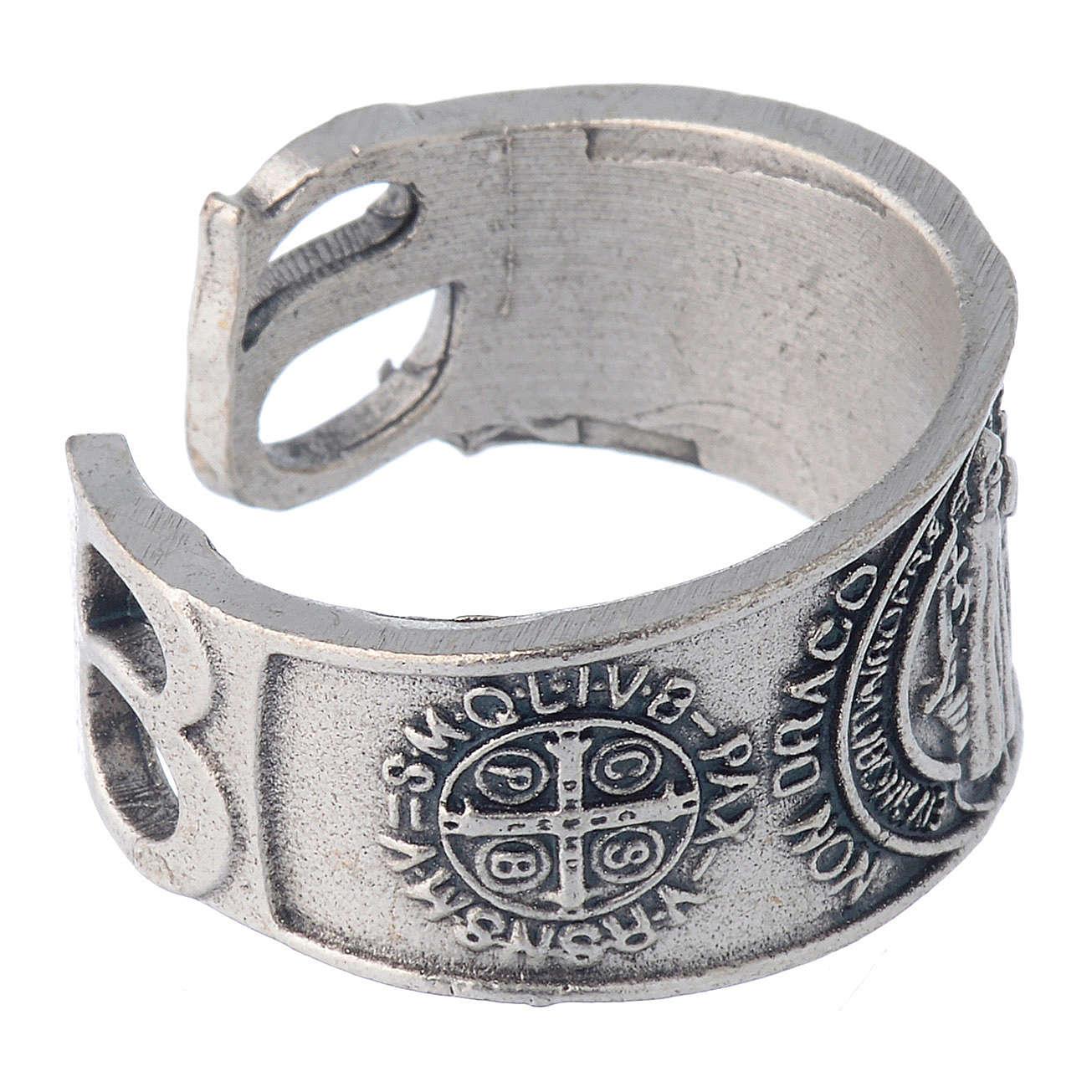 Zama ring Saint Benedict 3