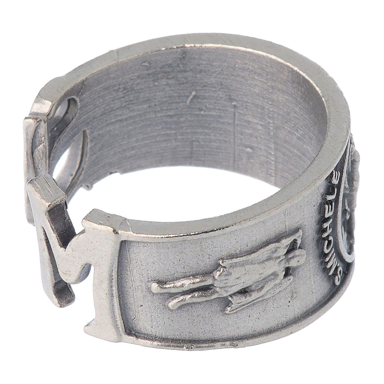 Bague Saint Michel Archange zamak 3