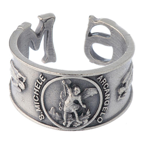 Bague Saint Michel Archange zamak 2