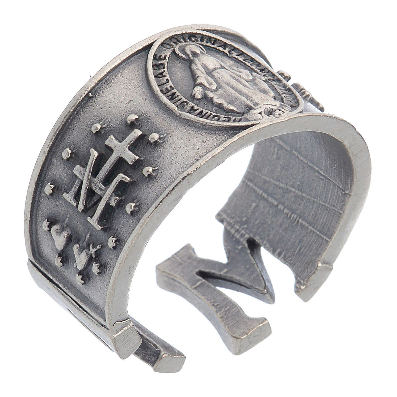 Bague Médaille Miraculeuse zamak 3