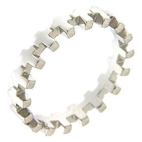 Anello croci AMEN argento 925 s1