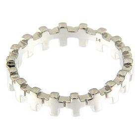 Anello croci AMEN argento 925 s2