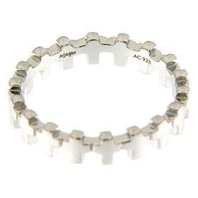Anello croci AMEN argento 925 s3