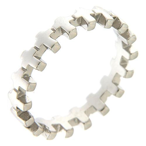 Anello croci AMEN argento 925 1