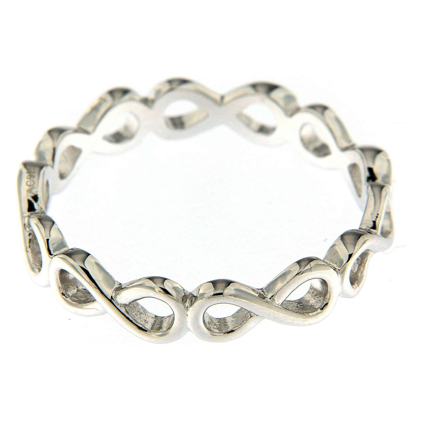 Anello AMEN infinito argento 925 3