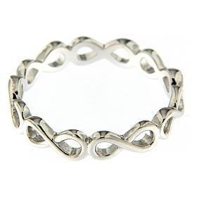 Anello AMEN infinito argento 925 s2
