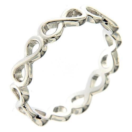 Anello AMEN infinito argento 925 1