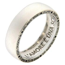 Anello Ti amo AMEN argento 925 s3