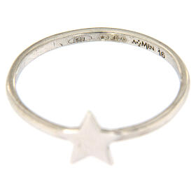 Anello AMEN stella argento 925 s3