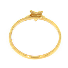 AMEN ring star of 925 gold plated silver s3