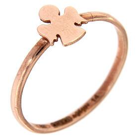 Ring AMEN rosa Silber 925 Engelchen s1