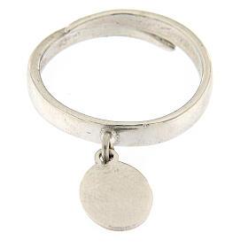 Anillo medalla Sólo El Amor Queda plata 925 s2