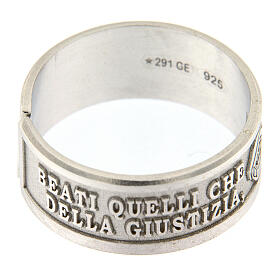 Anillos Beatitudes Fame y Sete di Giustizia plata 925 s3