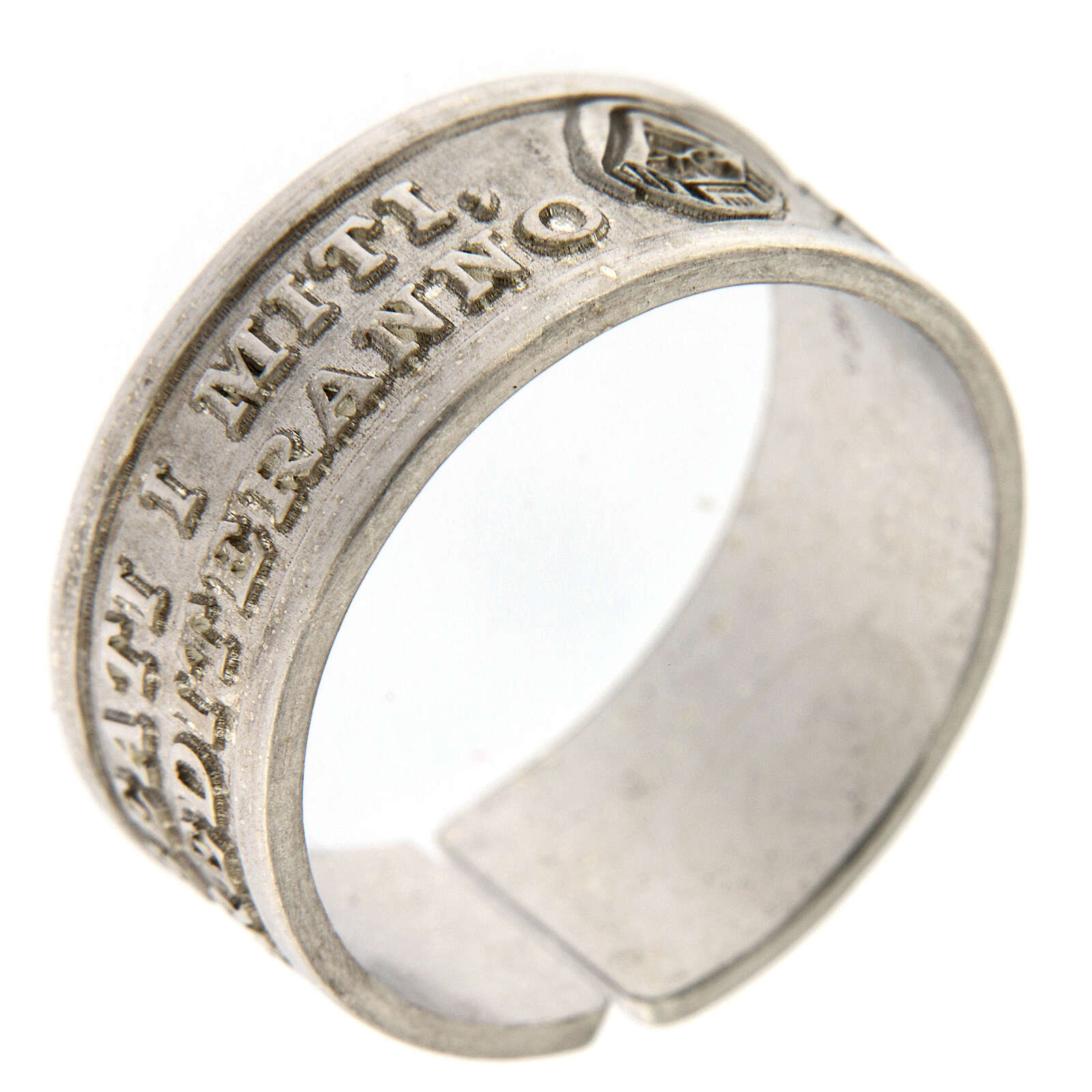 Anello Beati i Miti argento 925 apertura regolabile 3
