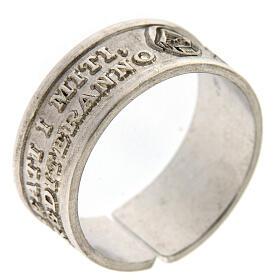 Anello Beati i Miti argento 925 apertura regolabile s1
