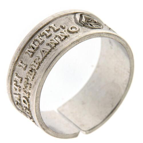 Anello Beati i Miti argento 925 apertura regolabile 1