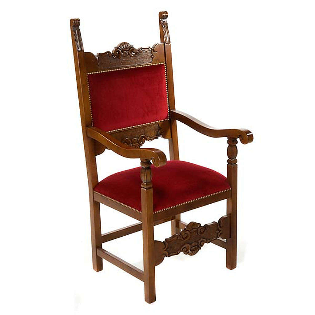 Sanctuary armchair, baroque model 4