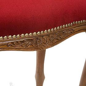 Sanctuary stool with red velvet s3