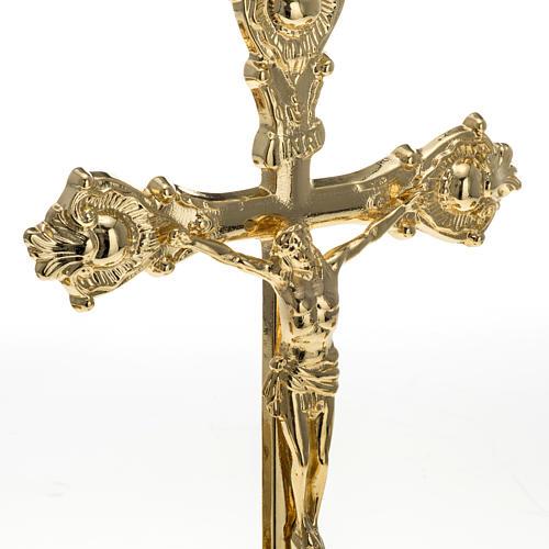 Completo para altar, cruz de latón 3