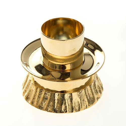Completo para altar, candelabro de latón 2