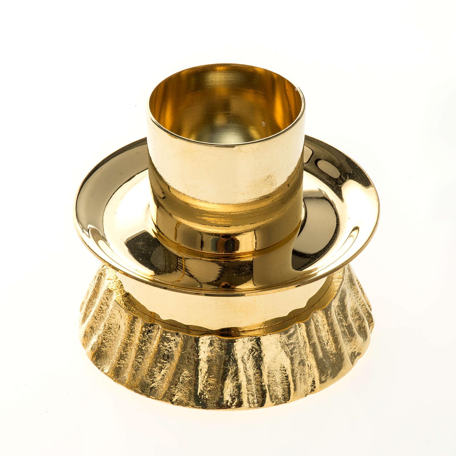 Set d'autel laiton doré 4