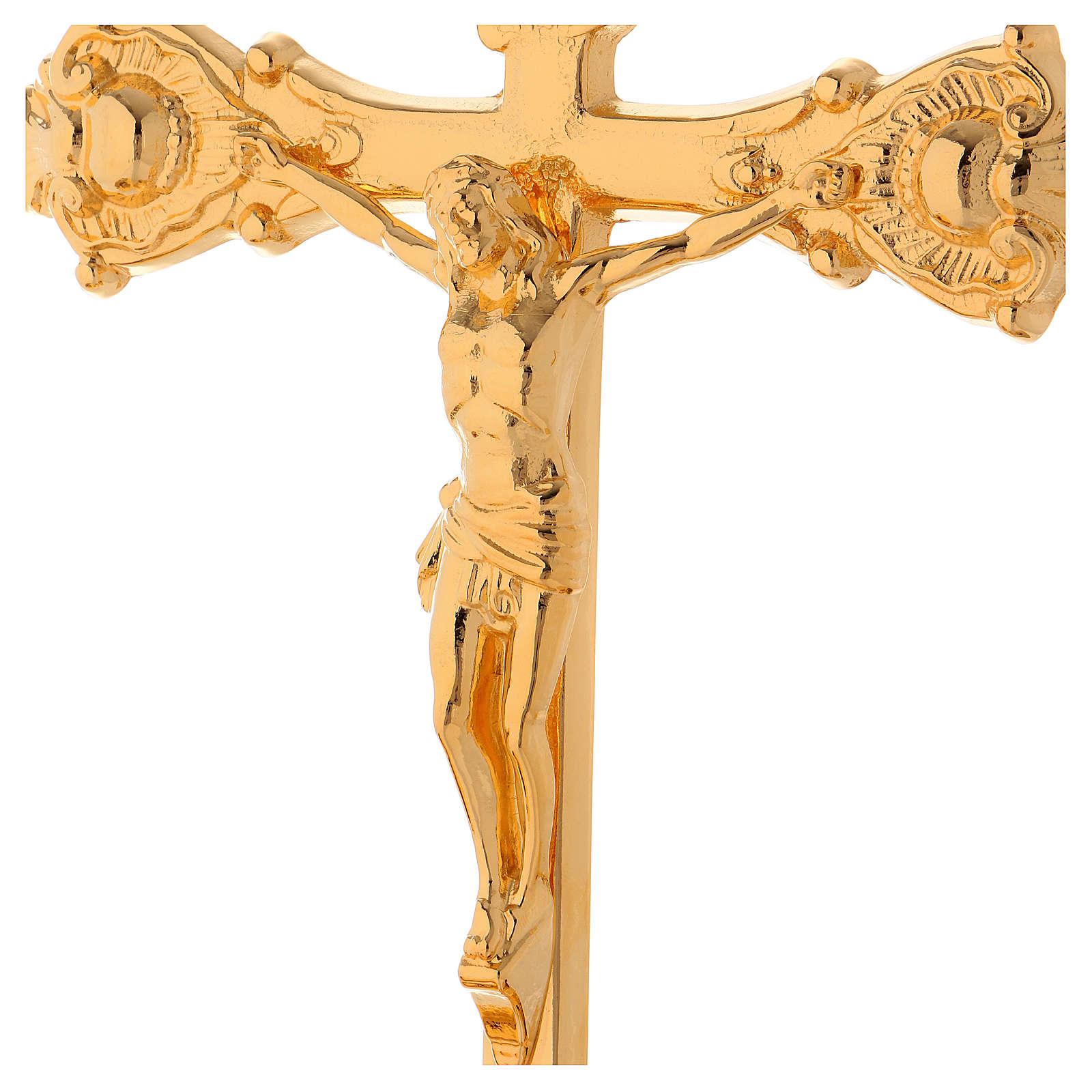 Completo para altar  candelabro y cruz 4
