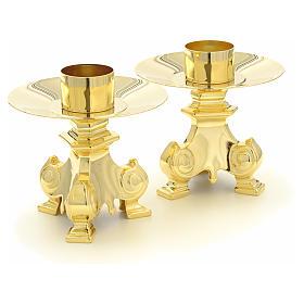 Croce e candelieri per altare s6