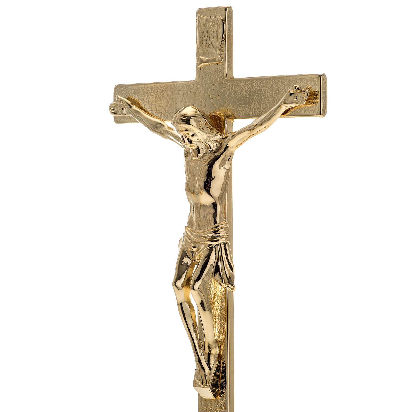 Cruz y candelabros para altar 3pz 4