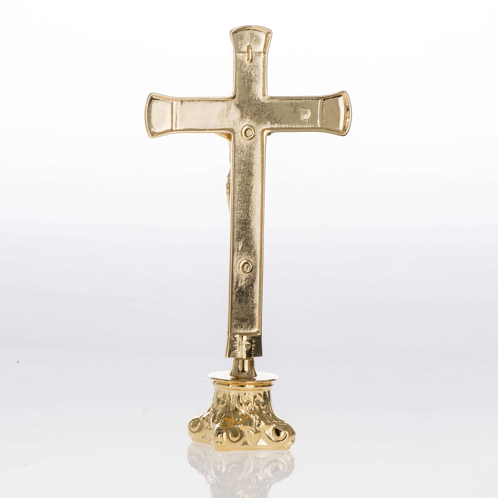 Completo para altar 3 piezas de latón 4