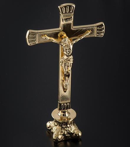 Completo para altar 3 piezas de latón 3