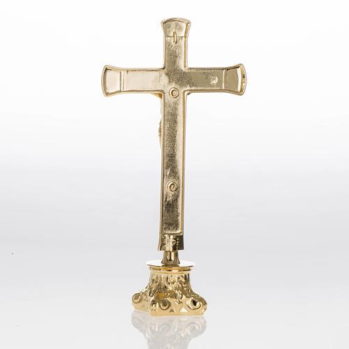Completo para altar 3 piezas de latón 8
