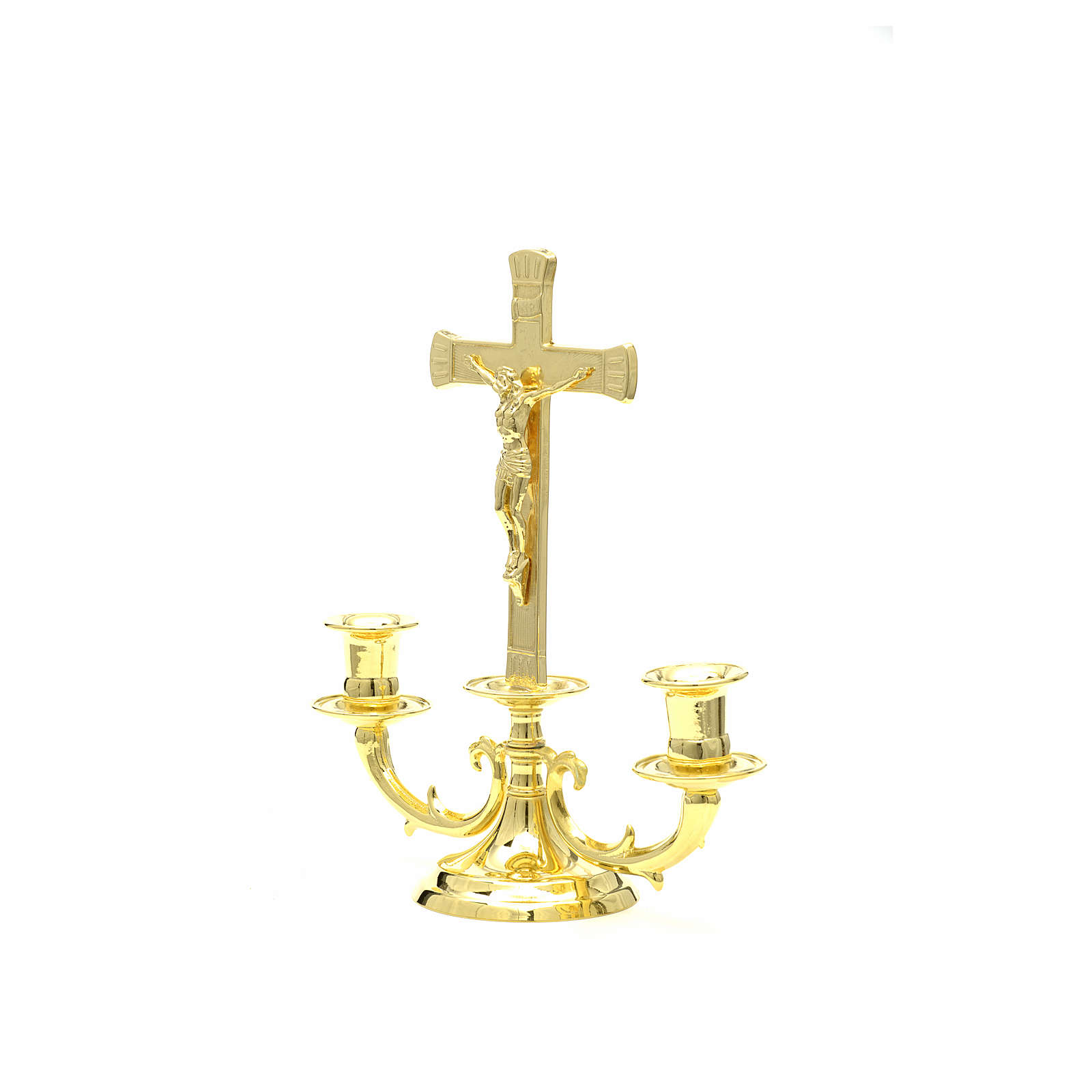 Altar candelabrum with cross 4