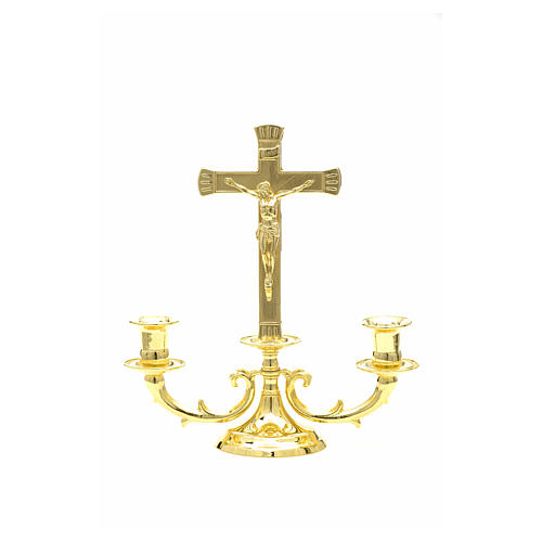 Altar candelabrum with cross 6