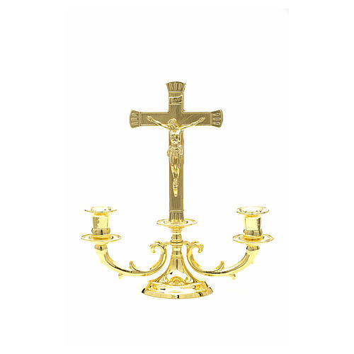 Altar candelabrum with cross 1