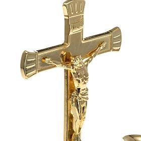 Chandelier avec croix pour autel s5