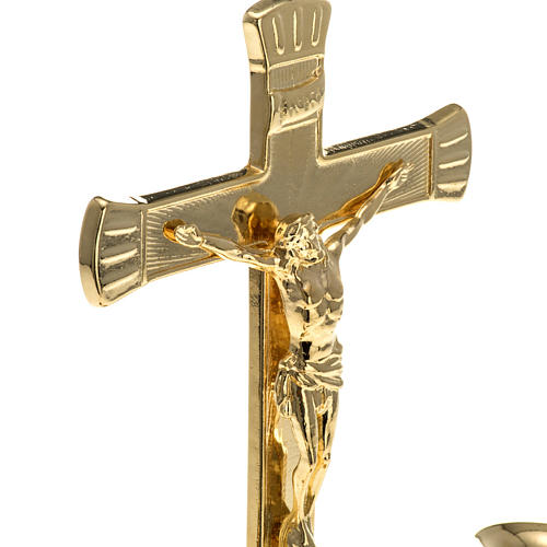 Candeliere con croce per altare 5