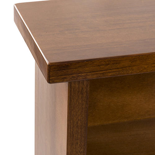 Prie-Dieu in green walnut wood 5