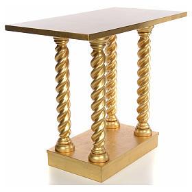 Altare in faggio a colonna 120x80 s3