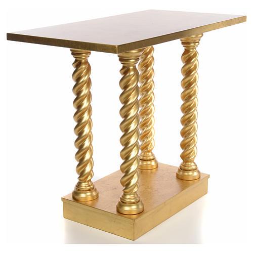 Altare in faggio a colonna 120x80 3