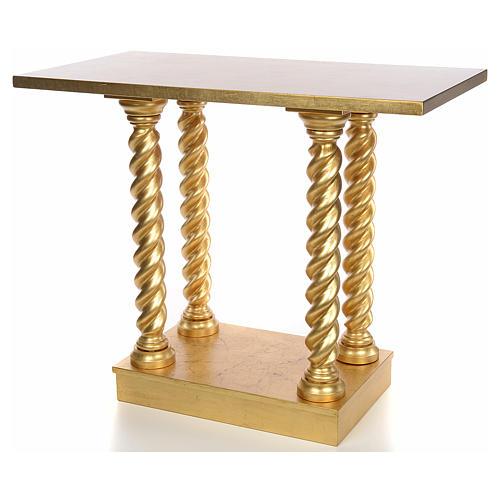 Altare in faggio a colonna 120x80 8