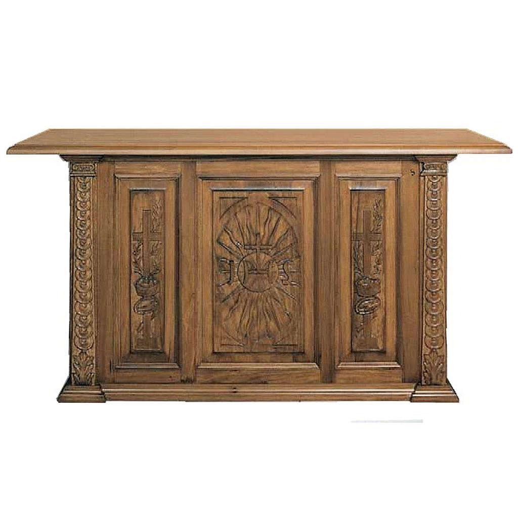 Altar de madera maciza entallada a mano 4