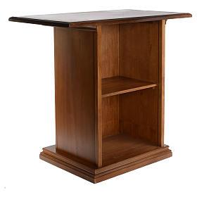 Altare intagliato in legno massiccio 110x65 cm s3