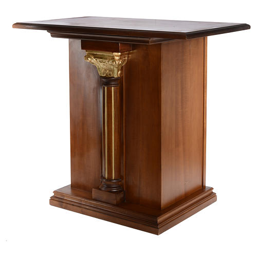 Altare intagliato in legno massiccio 110x65 cm 2